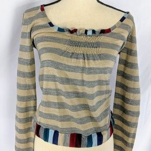 Marc By Marc Jacobs Top. Multicolor, Small.